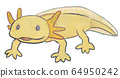 Illustration of cute woofer oper (yellow color) 64950242