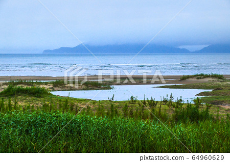 Jeju island ollegil beachside scenery 64960629