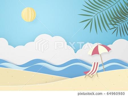 夏日海灘 64960980