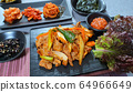 Korean homemade meal  and traditional dishes 64966649