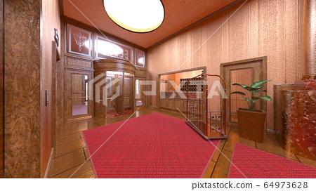 Hotel entrance 64973628