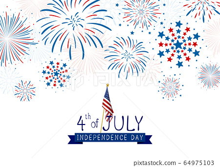 4th of july USA Independence day design 64975103