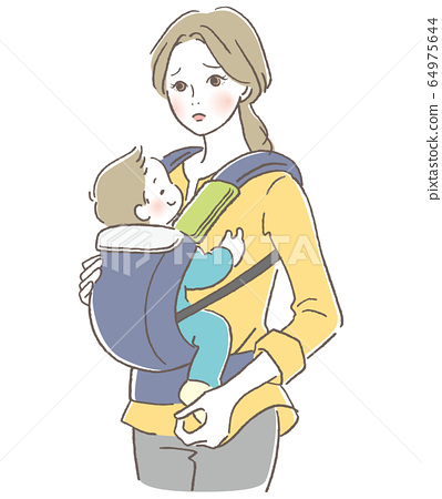 Hug string parent and child mother in need 64975644