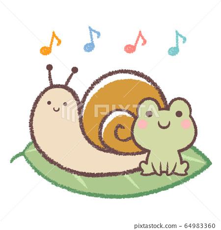 青蛙和蝸牛唱歌 64983360