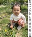 민들레와 소녀 64995580