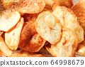 Handmade potato chips 64998679