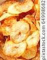 Handmade potato chips 64998682