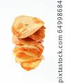 Handmade potato chips 64998684