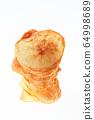 Handmade potato chips 64998689