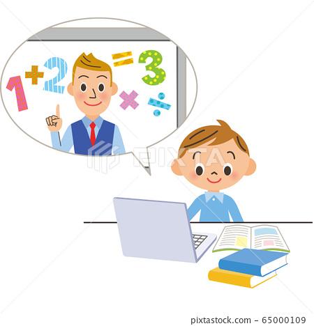孩子們在線學習數學 65000109