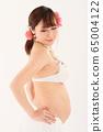 임신 9 개월 임산부 65004122
