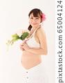 임신 9 개월 임산부 65004124