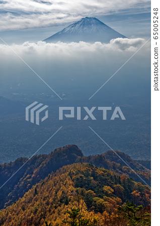 從山上看到的富士山 65005248