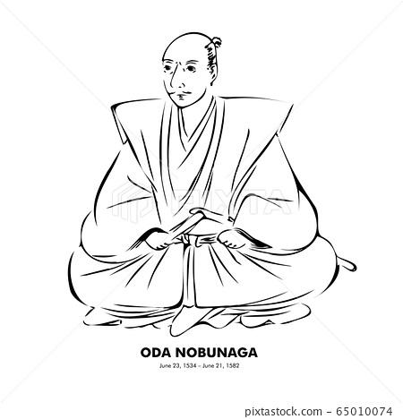 織田信長(1534 – 1582)歷史人物書法風格插圖 65010074