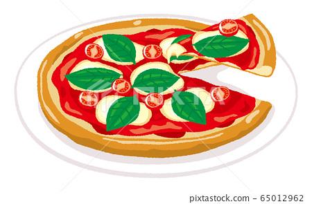 瑪格麗塔披薩的插圖 65012962