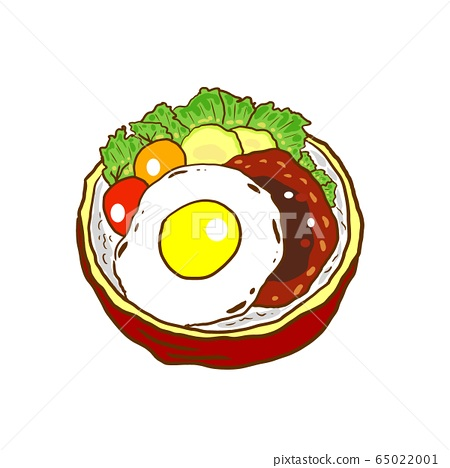 Loco Moko bowl illustration cut 65022001