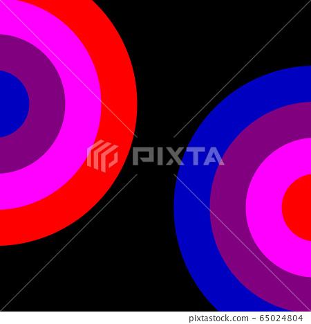 Concentric circles 65024804