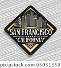 Vector logo for San Francisco 65031359