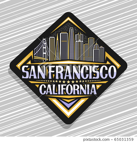 Vector logo for San Francisco 65031359
