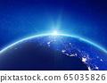 South America, Brazil Atlantic coast 65035826