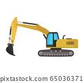 excavator icon 65036371
