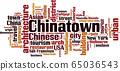 Chinatown word cloud 65036543
