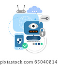 Cyber Security and Electronic Devices 65040814