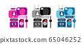 Social Networking vector designs 65046252