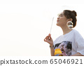 젊은여자 선생님 봄 65046921