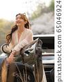 젊은여자 여행 봄 65046924