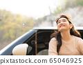 젊은여자 여행 봄 65046925