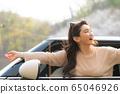 젊은여자 여행 봄 65046926