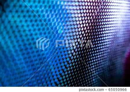 CloseUp LED blurred screen. LED soft focus 65050966