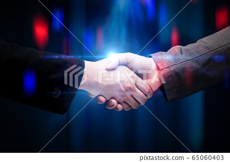 businessman hand shake 65060403