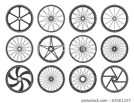 Bmx cycling wheels 65061207