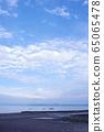 有明海洋和天空 65065478