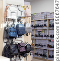 Sale in the store of women's stylish backpacks and shoes 65067647