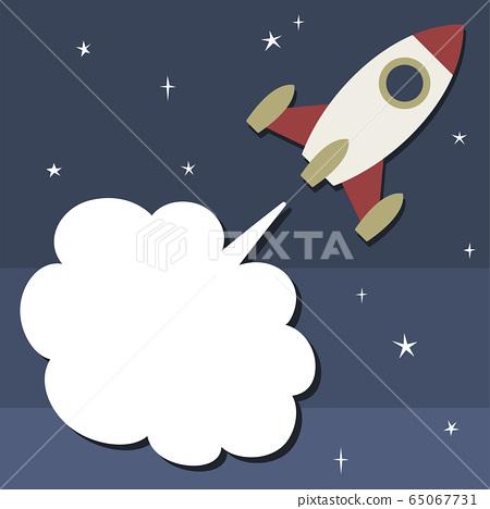 火箭冒煙 65067731