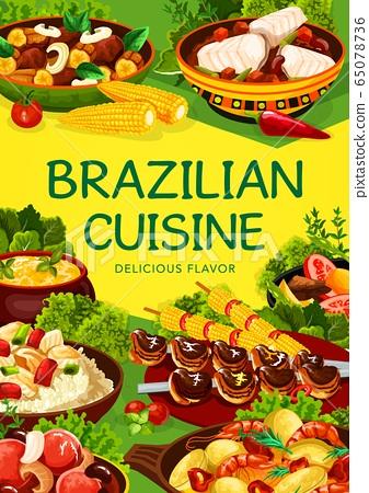 Brazilian cuisine, Brazil food menu dishes 65078736