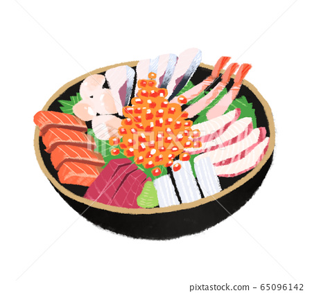 插图海鲜碗 65096142