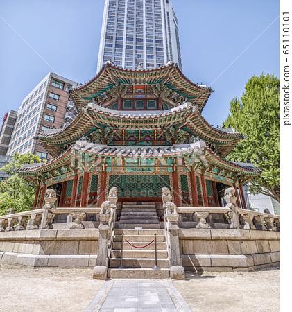 首爾市中區德壽宮萬丹 65110101