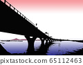東京灣水上線和富士山東京灣水上線,富士山 65112463