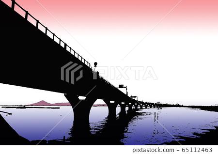 Tokyo Bay Aqua Line and Mount Fuji Tokyo Bay Aqua-Line, Mount Fuji 65112463