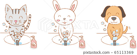 生活方式_洗手液/貓,兔子,狗 65113369