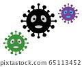 三款新型冠狀病毒黑綠紫 65113452