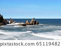 삼척 추암해변 촛대바위 65119482