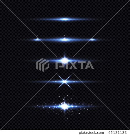 Abstract light beam effect of futuristic element artwork background.  65121128