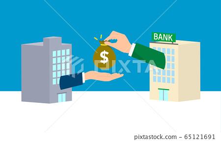 銀行貸款的形象 65121691