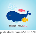 Protect Wildlife template card 65130778