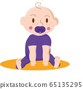 baby, cartoon, newborn 65135295